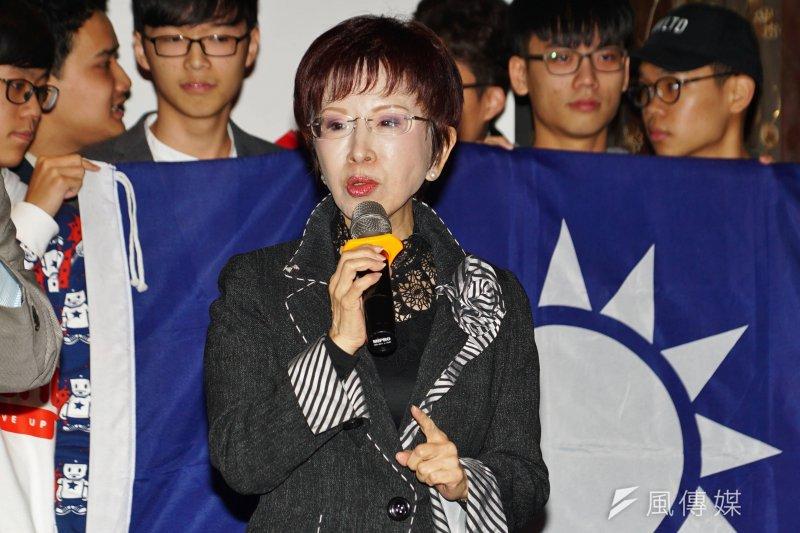 新年過後,國民黨主席競選正式開打,作者表示,希望洪主席慎重考慮聯合總會「一個轉念,一個優雅轉身」的呼籲。(資料照,盧逸峰攝)