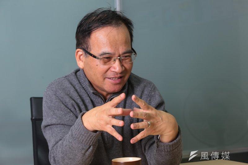 前台南縣長蘇煥智接受《風傳媒》專訪時,提出以「議題」為凝聚力的跨黨派「6都候選人連線」,就在眼前的2018年直轄市長選舉落實。(顏麟宇攝)
