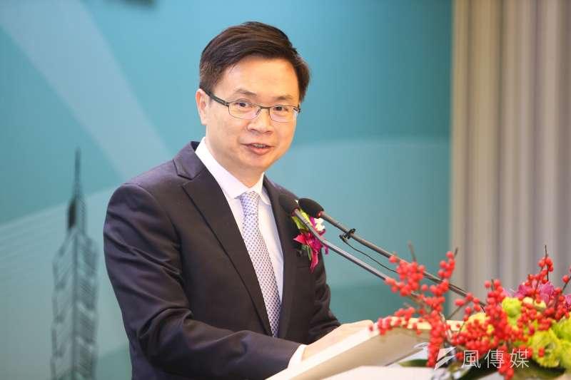 前新南向辦公室主任黃志芳今年2月接掌外貿協會,現在辦公室要熄燈了。(陳明仁攝)