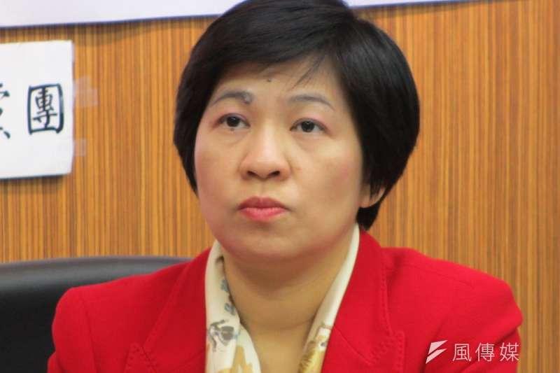 黃文玲在臉書「恭喜」段宜康可以繼續利用立委的言論免責權到處罵人不負責任,並表示會再聲請上訴。(取自維基百科)