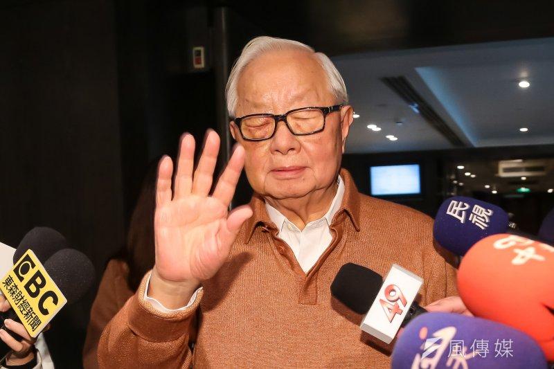 經過815大停電,台灣供電風險明確,台灣會因此要跟張忠謀說掰了嗎?(顏麟宇攝)