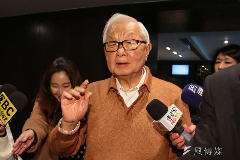 台積電董事長張忠謀表示,明年6月將會退休,退休之後的第一件是就是要完成他的自傳下冊。(資料照,顏麟宇攝)