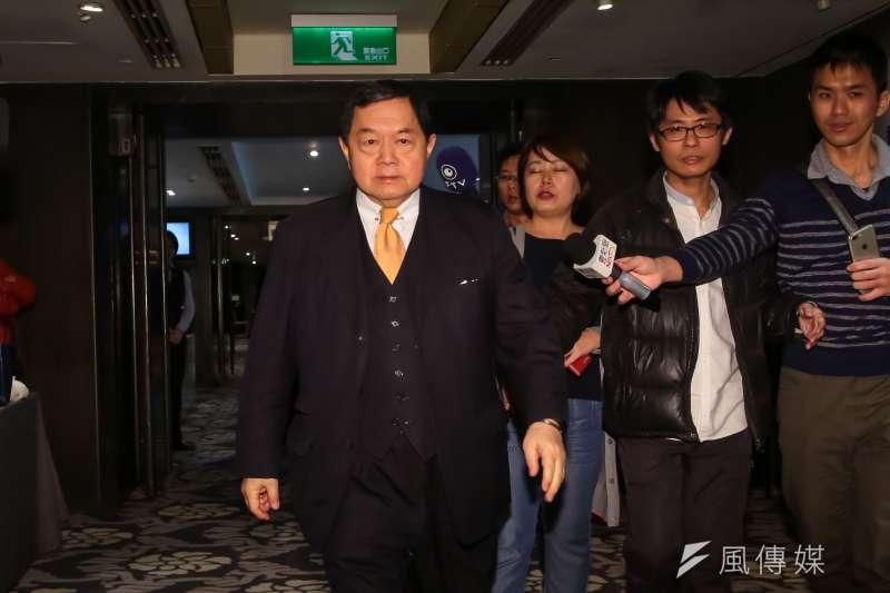 遠東集團總裁徐旭東表示他將投資高雄百億。(資料照片,顏麟宇攝)