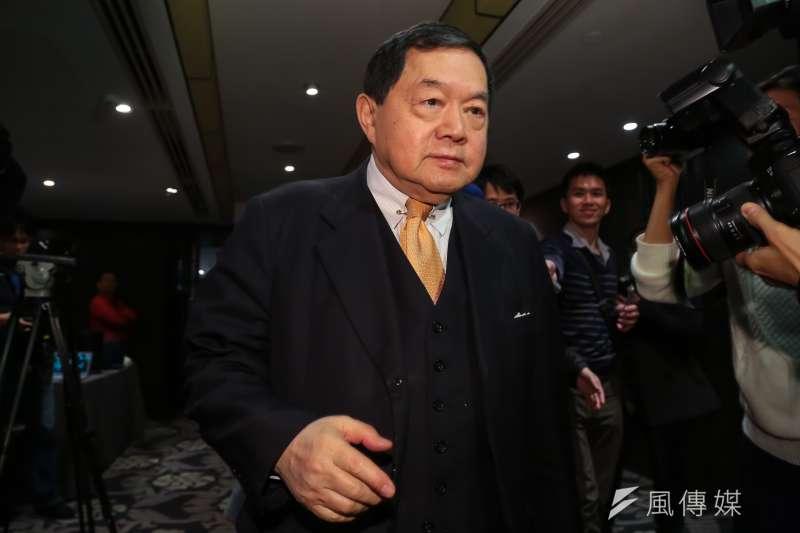 20170215-遠東集團總裁徐旭東15日出席中華文化總會執委會議。(顏麟宇攝)