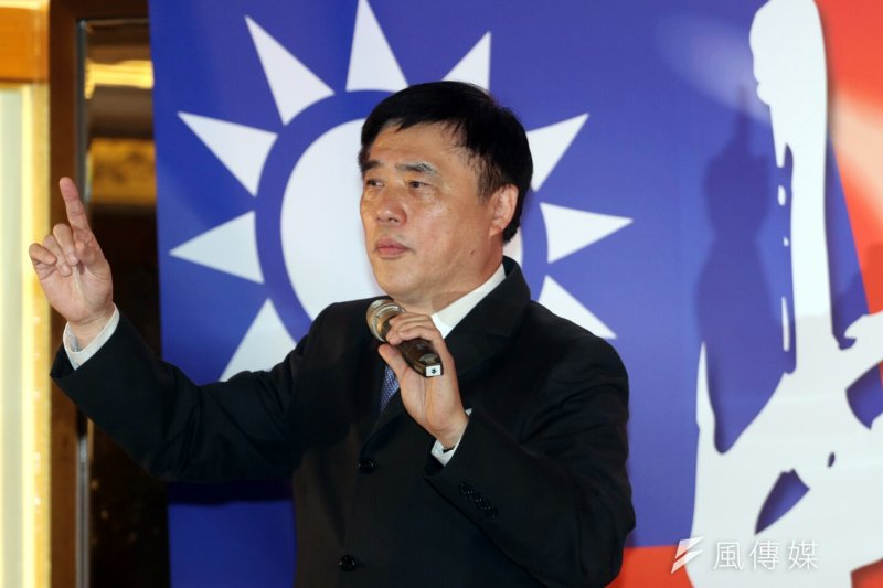 國民黨副主席郝龍斌競選黨主席中興後援會成立大會。(蘇仲泓攝)