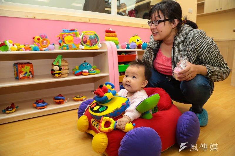 20170216-立法院附設托嬰中心16日正式揭幕。(顏麟宇攝)