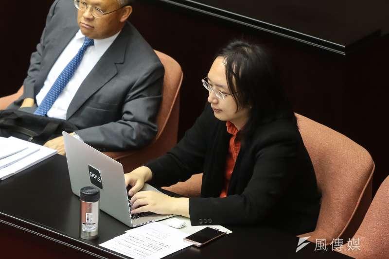政務委員唐鳳將與臉書協調,建立處理假新聞的機制。(資料照片,顏麟宇攝)