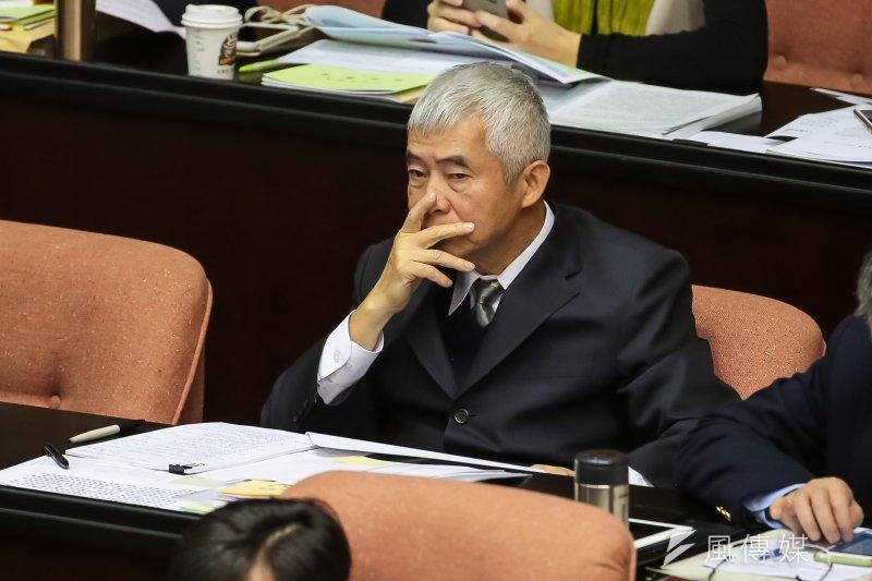 根據台灣民意基金會民調,林全內閣知名度普遍不高,最高的交通部長賀陳旦也只有2成受訪者認得。(資料照片,顏麟宇攝)