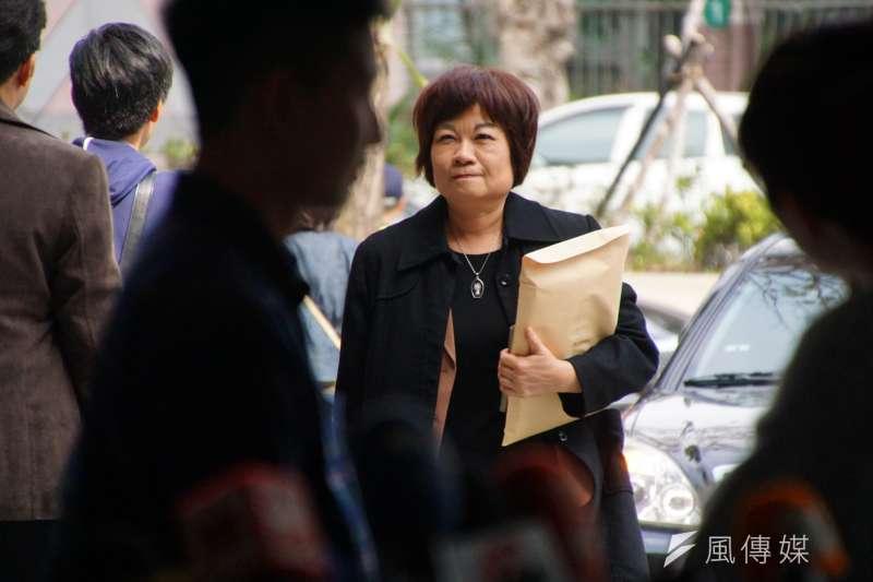 20170218-行政院政務團隊工作會議,秘書長陳美伶。(盧逸峰攝)