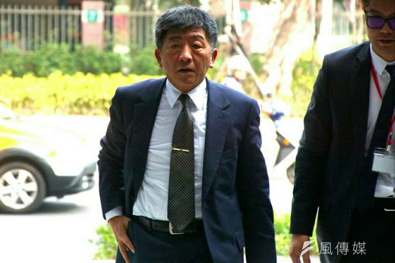 20170218-行政院政務團隊工作會議,衛福部長陳時中。(盧逸峰攝)