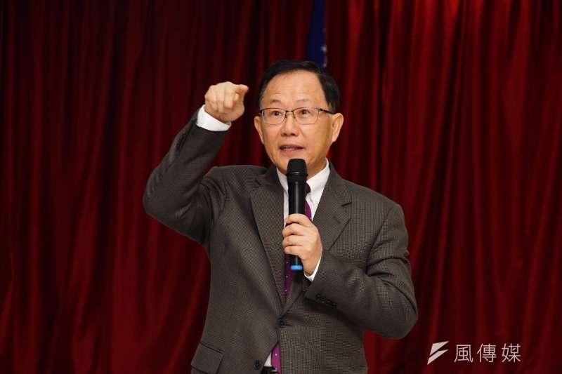 有意投入2018年台北市長選舉的前國民黨立委丁守中痛批,柯文哲不顧老人安危死活,完全是為選舉動員造勢。(資料照,盧逸峰攝)