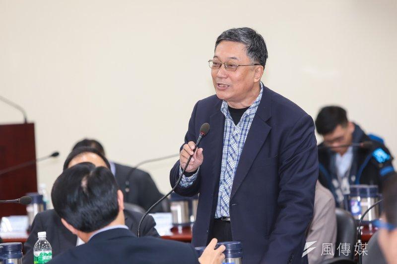 20170222-國民黨中常委黃志雄22日出席國民黨中常會。(顏麟宇攝)