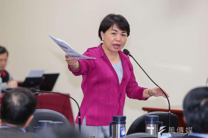 20170222-國民黨中常委楊瓊瓔22日出席國民黨中常會。(顏麟宇攝)