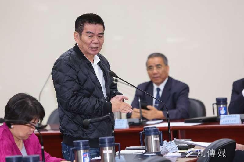 20170222-國民黨中常委姚江臨22日出席國民黨中常會。(顏麟宇攝)