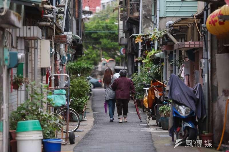 社子島街道畫面。(顏麟宇攝)