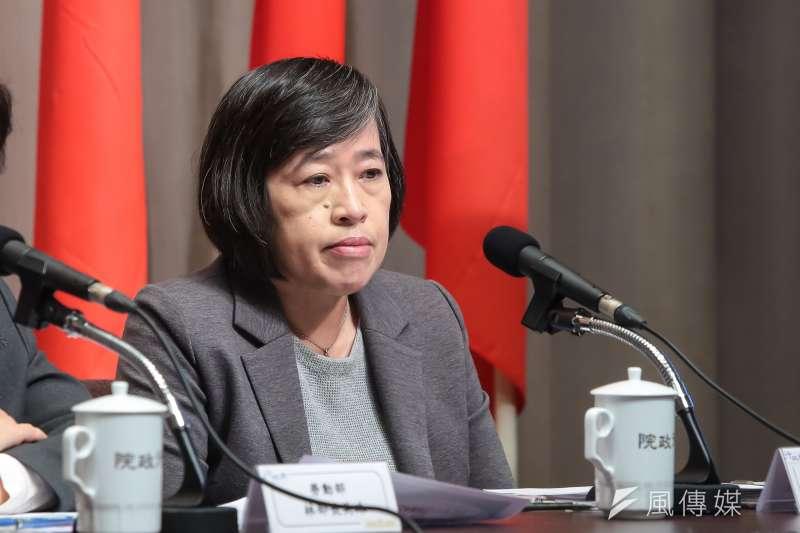 國發會副主委高仙桂。(顏麟宇攝)