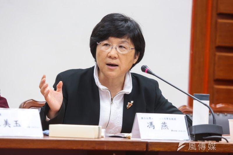 台大前學務長、也是社工系教授馮燕,在擔任學務長期間曾協助解決跨性別學生轉換宿舍難題。(資料照片,顏麟宇攝)