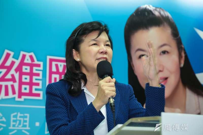 20170224-前國民黨立委潘維剛24日召開記者會宣布,參選國民黨主席選舉。(顏麟宇攝)