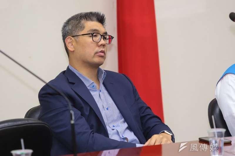 國民黨中央委員連勝文批評即將接任金管會主委顧立雄的金改主張。(資料照片,顏麟宇攝)