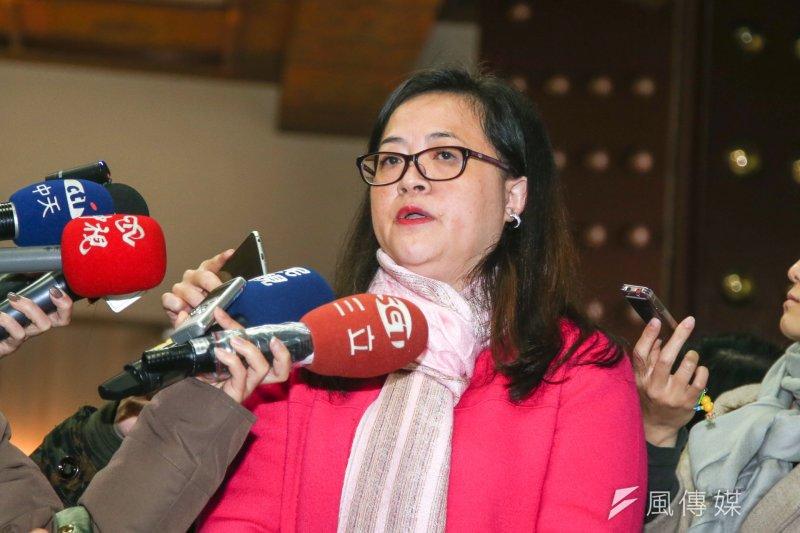二二八受難者家屬李慧生表示,2017年正好是二二八滿70年,又已脫離國民黨執政,終於能夠是台灣人舉行中樞紀念儀式,而不再是國民黨的代表。(陳明仁攝)