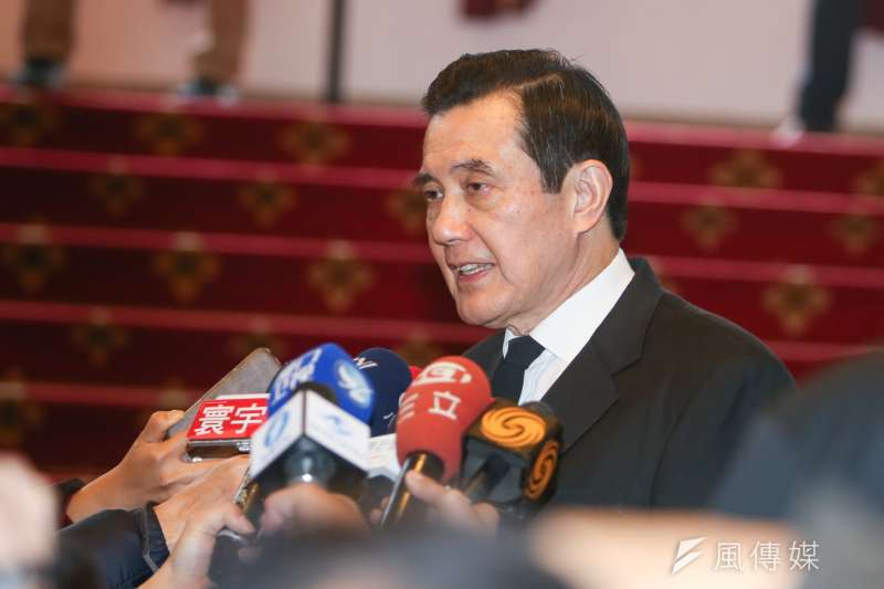前總統馬英九表示,中國應幫助台灣參加WHA大會,有助於兩岸破冰。(資料照,陳明仁攝)