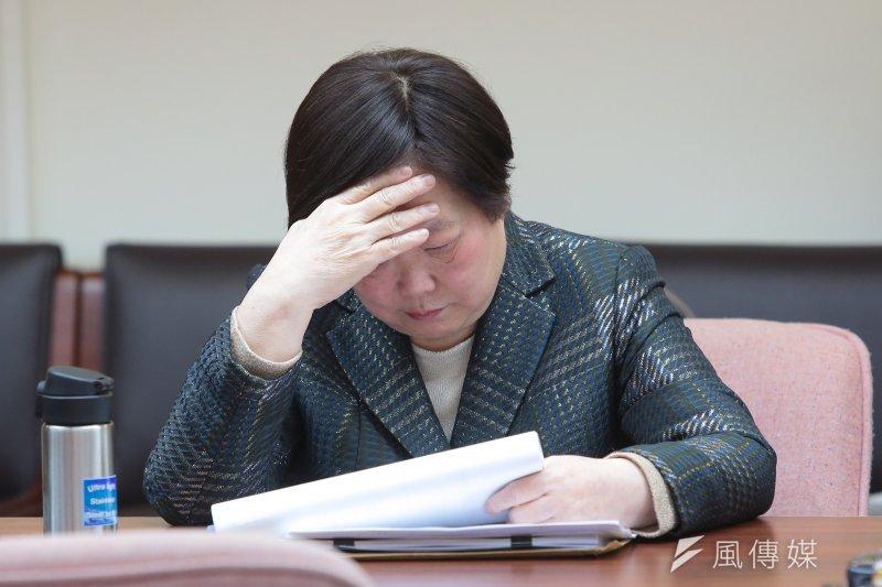 一例一休亂局持續,再加上「LINE事件」,總統表姐、勞動部長林美珠該出面解決問題吧!(資料照片,顏麟宇攝)