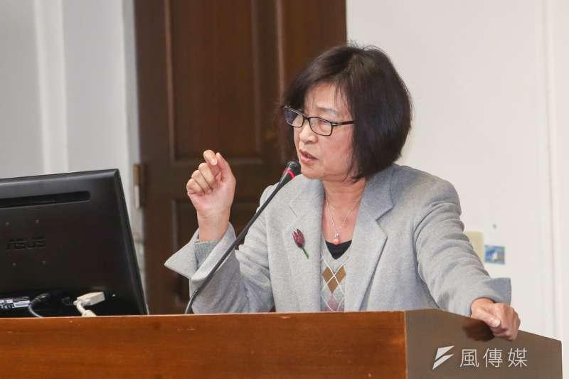 20170302立法院.立委蘇治芬.(陳明仁攝)