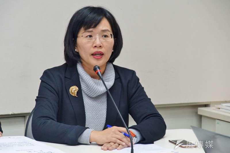 民進黨立委蘇巧慧等8人,針對中央政府體制提出修憲案,主張採取總統制。(資料照,盧逸峰攝)