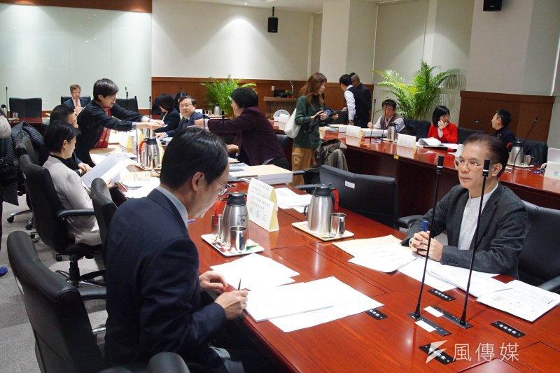 20170302-司法改革國是會議,第五組會議。(盧逸峰攝)