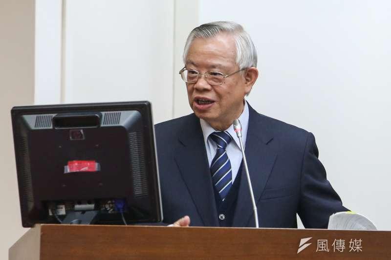 台灣未列名匯率操縱國,彭淮南通過任期內可能是最後一次的大考驗。(資料照片,陳明仁攝)