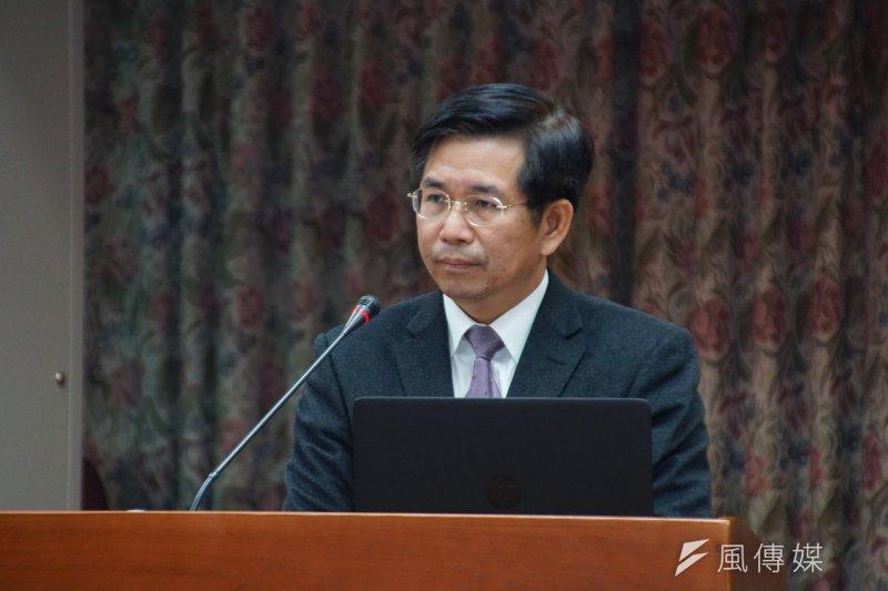 20170302-教育部長潘文忠備詢。(盧逸峰攝)
