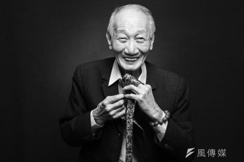 高齡86歲的裘爺爺,雖然一人獨居,卻很活躍、樂活。(高齡化政策暨產業發展協會提供)