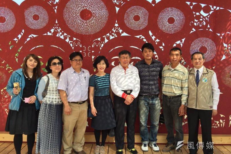 台北燈節紅蛋區作品將「家」落腳台南市續展,台北市政府表示,這象徵2個城市的市民都是「一家人」的連結。(取自北市府)