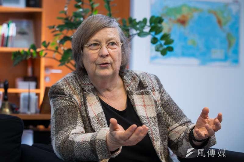 20170306-德國綠能專題,專訪德國綠黨的國會議員 Ms.Bärbel Höhn 霍恩女士。(顏麟宇攝)