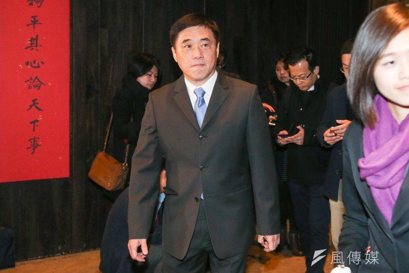 前總統馬英九涉洩密案,遭台北地檢署於14日起訴,國民黨副主席郝龍斌表示,相信司法會還馬公道。(資料照,陳明仁攝)