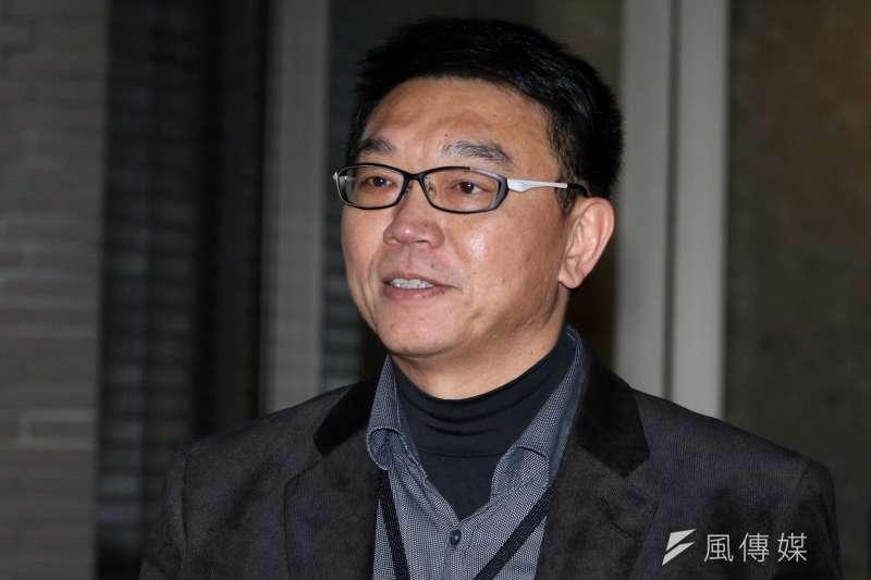 中華文化總會今天開第七屆會員大會,林錦昌接任秘書長。(蘇仲泓攝)