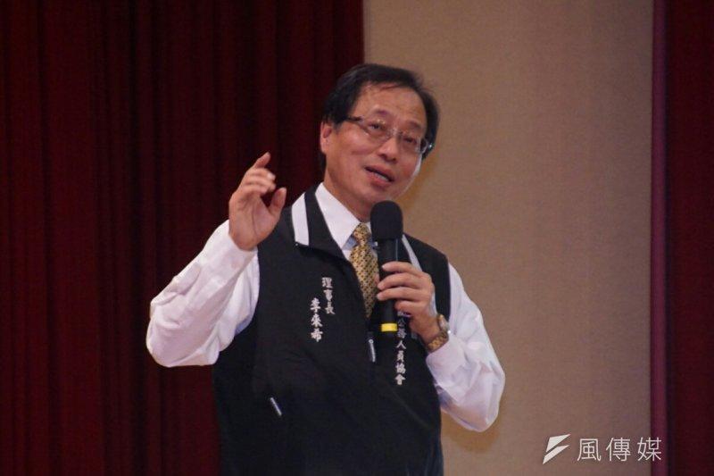 全國公務人員協會理事長李來希表示,「大戰要開打了」、「考試院屈服了,考試院還是廢了吧」。(資料照,盧逸峰攝)
