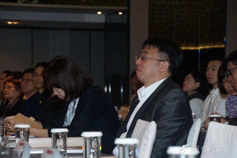 台北市政府13日舉行「居住正義論壇Ⅱ」,回應有關房屋稅稅率調整問題。圖為財政局局長陳志銘。(盧逸峰攝)