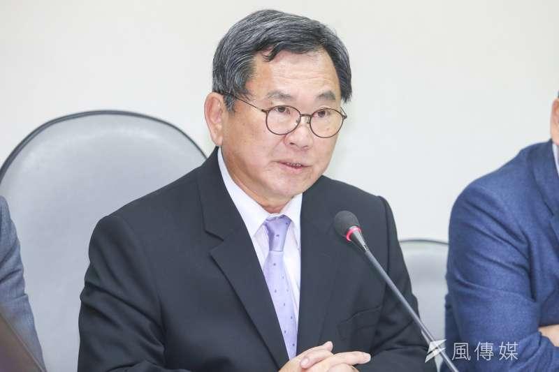 民進黨立委陳明文上周在民進黨選對會中,提出徵召35歲以下的年輕人參選的建議。(資料照,陳明仁攝)