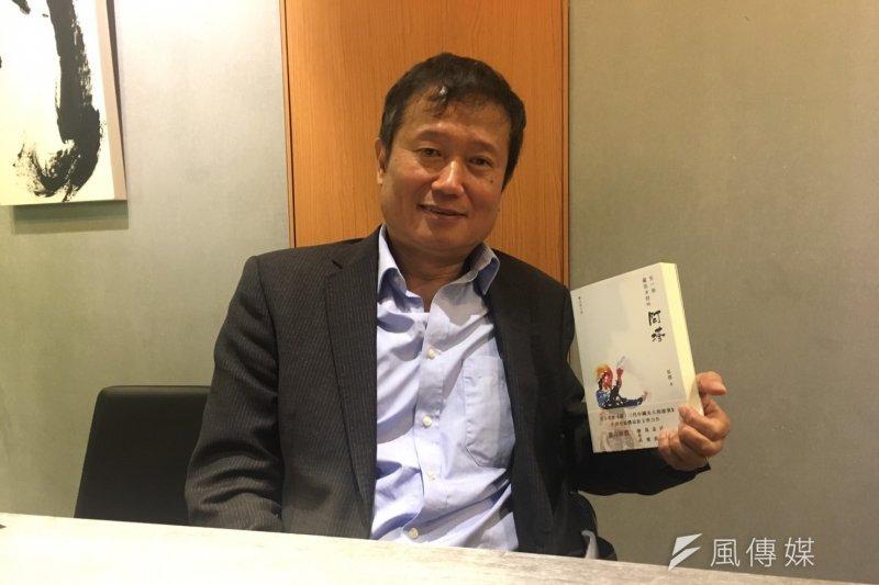 記者出身的張樸希望透過《有一個藏族女孩叫阿塔》的愛情故事,探討漢人與藏人之間所發生的歷史故事,揭露中國黑暗政府的壓制。(焦家卉攝)