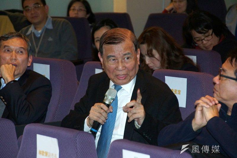 東元集團會長黃茂雄今(22)日表示,想發展綠能就不能變來變去,要持續堅持。(資料照,盧逸峰攝)