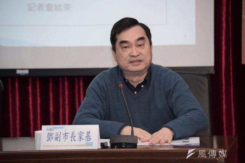 台北市政府14日上午召開「高齡者消費生活保護計畫執行成果」記者會,副市長鄧家基表示,「重陽敬老不是只有1天,而是365天」。(北市府提供)