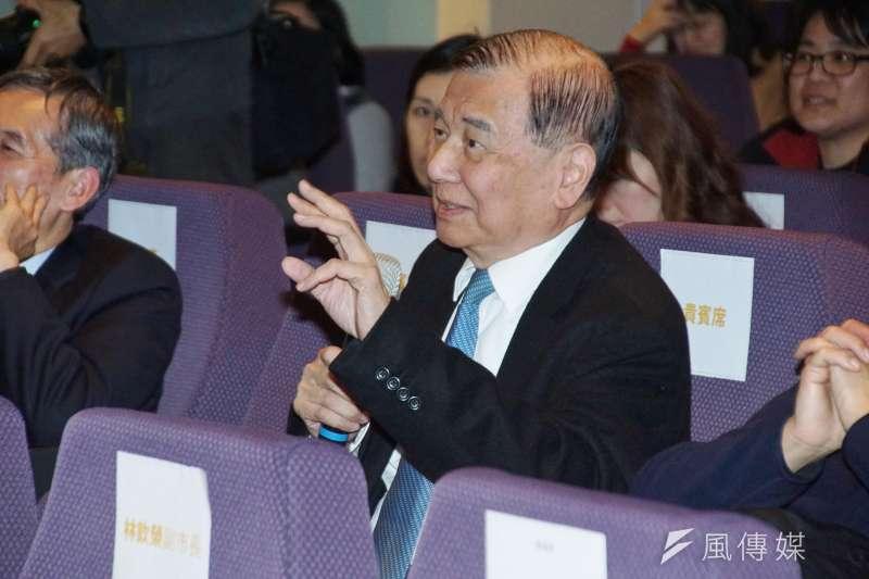 東元今年將改選董事,日前傳出東元集團會長黃茂雄(圖)、黃育仁父子針對董事改選方向不和。(資料照,盧逸峰攝)