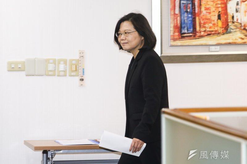 總統蔡英文不夠新的新政,可能反而會讓台灣陷入僵局。(資料照片,陳明仁攝)