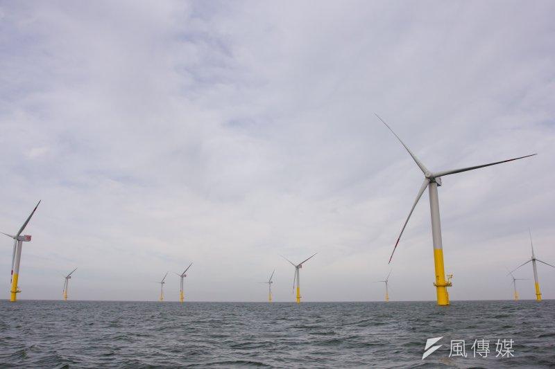 由於彰化縣府不滿意風電開發商所提的回覆,至今仍未放行,導致4家業者無法取得籌設許可、也無法與台電簽購售電合約。示意圖。(資料照,顏麟宇攝)