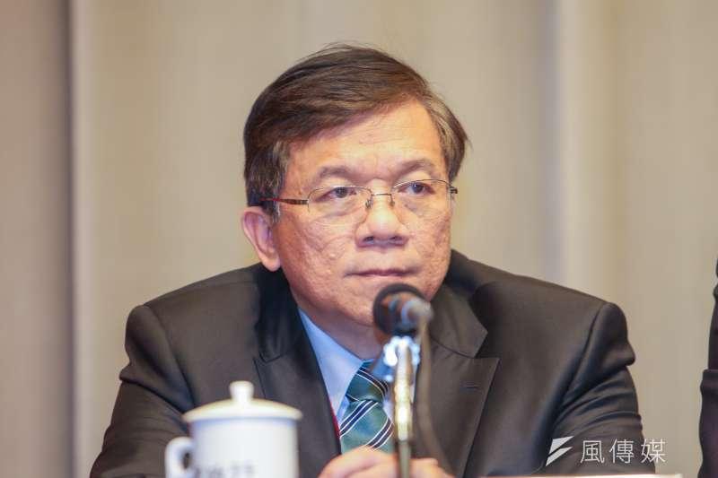 20170320經濟部部長李世光出席行政院「前瞻基礎建設計畫記者會.(陳明仁攝)