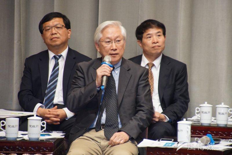 政務委員吳政忠。(資料照/盧逸峰攝)