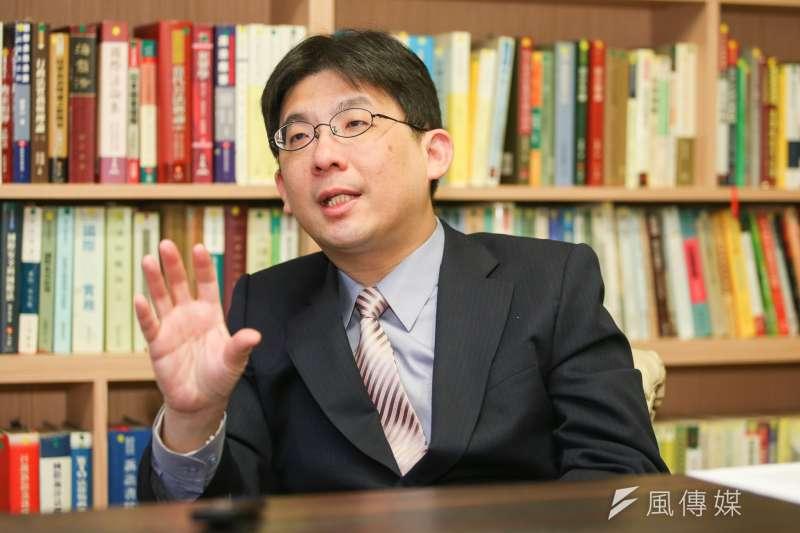 胡佛研究員、檔案館東亞部主任林孝庭(陳明仁攝)