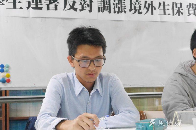 20170321-香港學生樊俊朗。(洪與成攝)