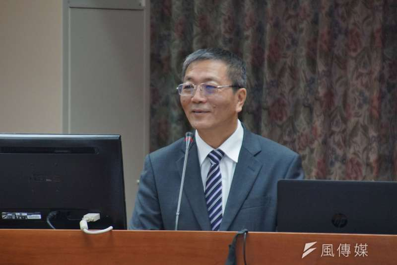 20170323-體育署長林德福至教育文化委員會備詢。(盧逸峰攝)